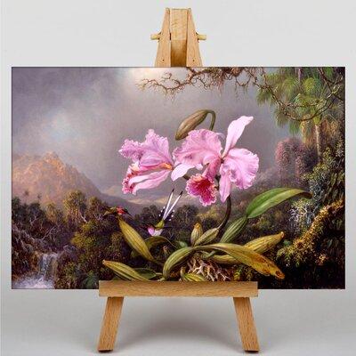 Big Box Art Orchid Study by Martin Johnson Heade Graphic Art on Canvas