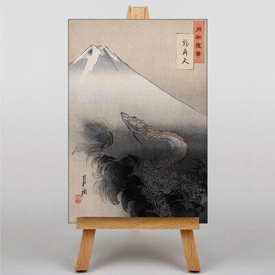 Big Box Art Oriental Japanese by Ogata Gekko Graphic Art on Canvas