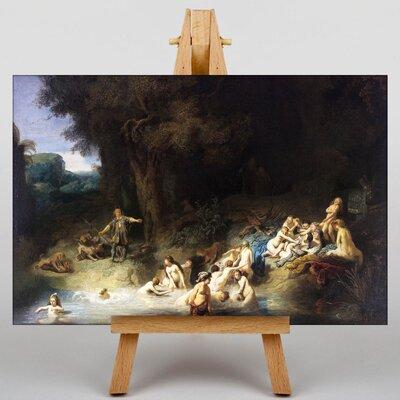 Big Box Art Rembrandt Diana and Actaeon Anholt Castle Art Print on Canvas