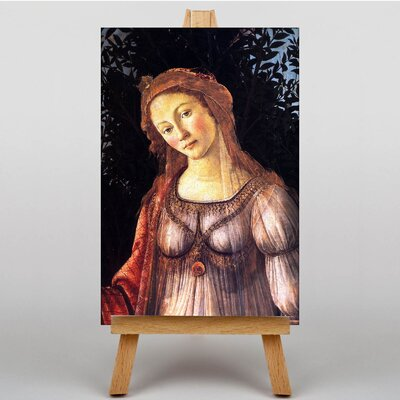 Big Box Art Sandro Primavera by Sandro Botticelli Art Print on Canvas
