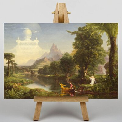 Big Box Art The Ages of Life Youth by Thomas Cole Art Print on Canvas