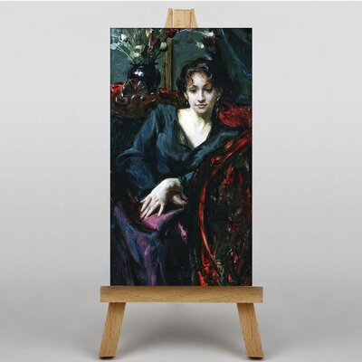 Big Box Art Sargent Isabella Stewart Gardner by John Singer Art Print on Canvas