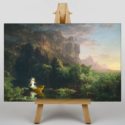 Big Box Art The Voyage of Life Childhood by Thomas Cole Art Print on Canvas