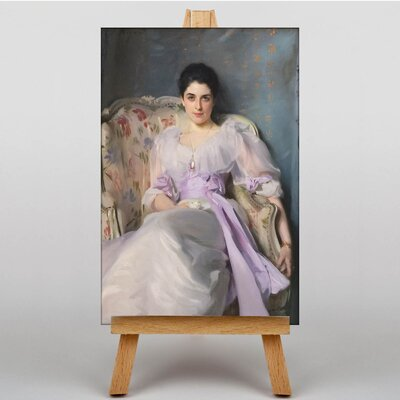 Big Box Art Lady Agnew by John Singer Sargent Art Print on Canvas