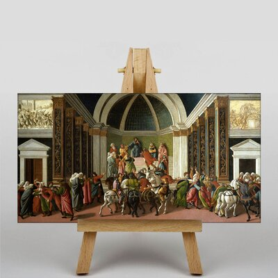 Big Box Art The Story of Virginia by Sandro Botticelli Art Print on Canvas