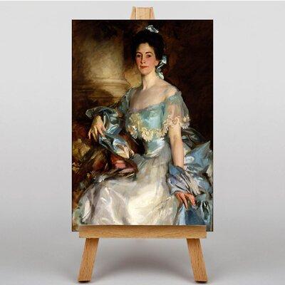 Big Box Art Portrait of a Lady by John Singer Sargent Art Print on Canvas