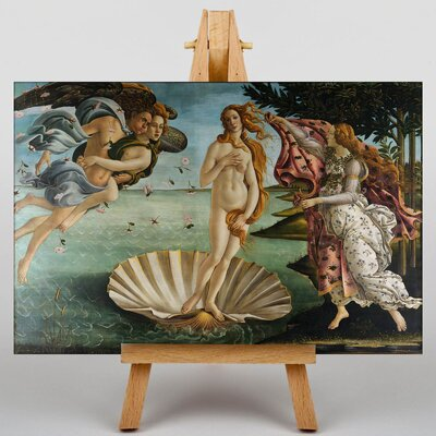 Big Box Art Venus by Sandro Botticelli Art Print on Canvas