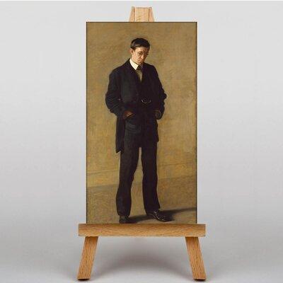 Big Box Art The Thinker by Thomas Eakins Art Print on Canvas