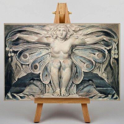 Big Box Art Illustration by William Blake Art Print on Canvas
