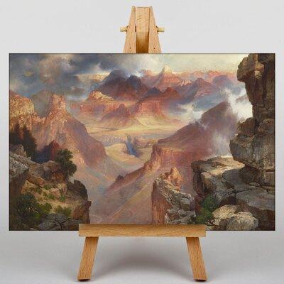 Big Box Art Canyon of Arizona by Thomas Moran Grand Art Print on Canvas