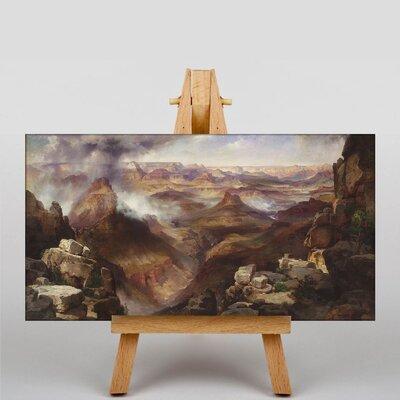 Big Box Art Canyon of Colorado by Thomas Moran Grand Art Print on Canvas
