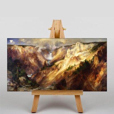 Big Box Art Canyon of Yellowstone by Thomas Moran Art Print on Canvas
