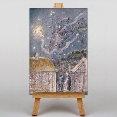 Big Box Art The Goblin by William Blake Art Print on Canvas