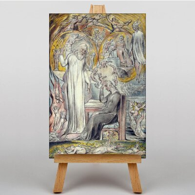Big Box Art The Spirit of Plato by William Blake Art Print on Canvas