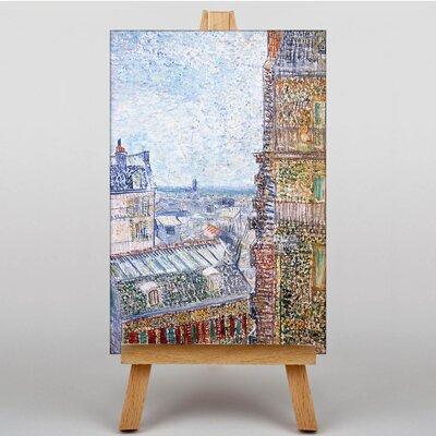 Big Box Art View of Paris by Vincent Van Gogh Art Print on Canvas