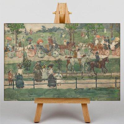 Big Box Art Maurice Pendergrast Central Park by Maurice Prendergast Art Print on Canvas