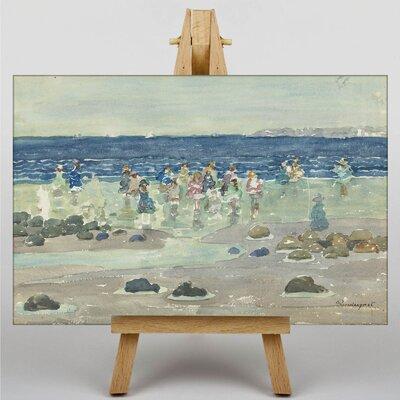 Big Box Art Maurice Pendergrast Low Tide by Maurice Prendergast Art Print on Canvas