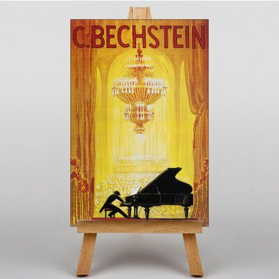Big Box Art C Bechstein Graphic Art on Canvas