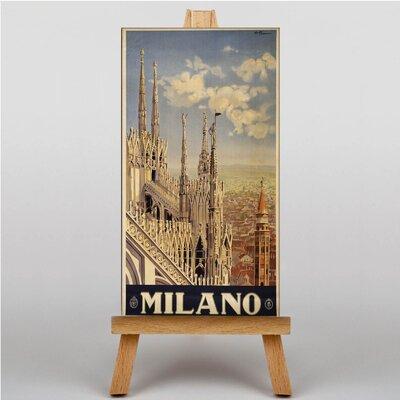 Big Box Art Milan Milano Graphic Art on Canvas
