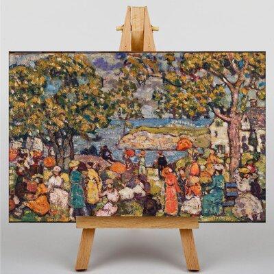 Big Box Art Maurice Pendergrast Picnic by Maurice Prendergast Art Print on Canvas