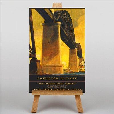 Big Box Art New York Vintage Advertisement on Canvas