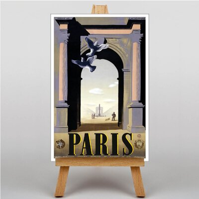 Big Box Art Paris No.2 Graphic Art on Canvas