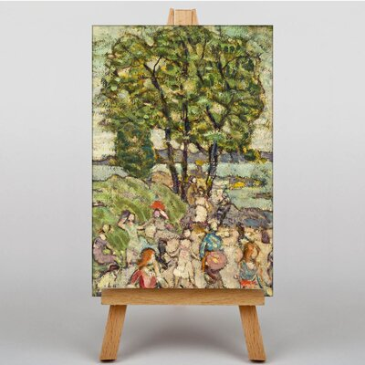 Big Box Art The Bathing Cove by Maurice Prendergast Art Print on Canvas