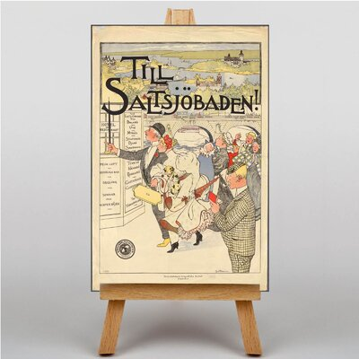 Big Box Art Poster of Sweden Graphic Art on Canvas