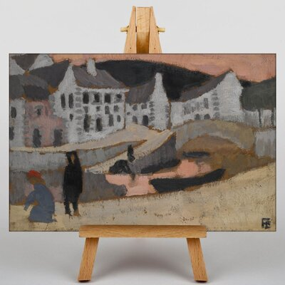 Big Box Art The Canal Brittany Landscape by Roger de la Fresnaye Art Print on Canvas
