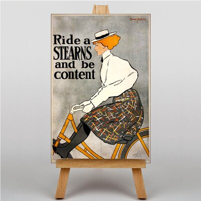 Big Box Art Ride a Stearns Vintage Advertisement on Canvas