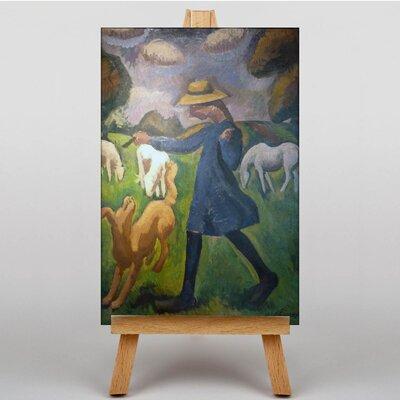 Big Box Art Fresnaye The Shepherdess by Roger de la Fresnaye Art Print on Canvas