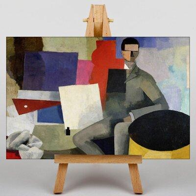 Big Box Art The Sitting Man by Roger de la Fresnaye Art Print on Canvas
