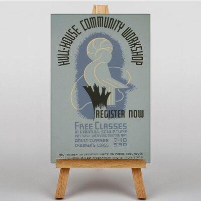 Big Box Art Hull-House Vintage Advertisement on Canvas