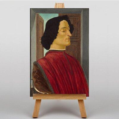 Big Box Art Giuliano de Medici by Sandro Botticelli Art Print on Canvas