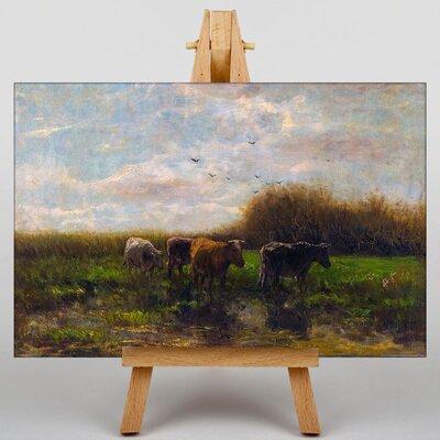Big Box Art Cows by Willem Maris Art Print on Canvas