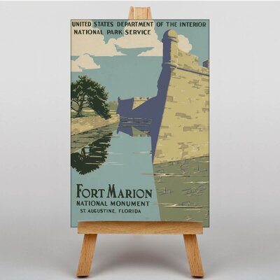 Big Box Art Fort Marion Vintage Advertisement on Canvas