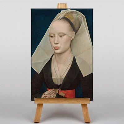 Big Box Art Portrait of a Lady by Sandro Botticelli Art Print on Canvas
