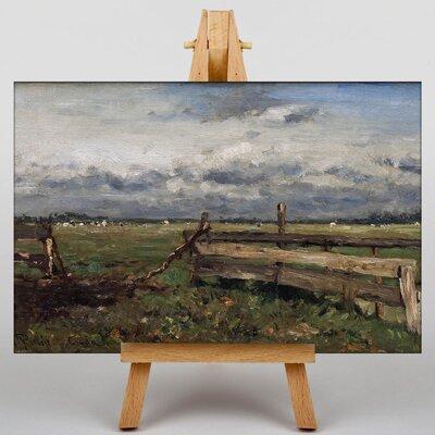 Big Box Art Landscape by Willem Roelofs Art Print on Canvas
