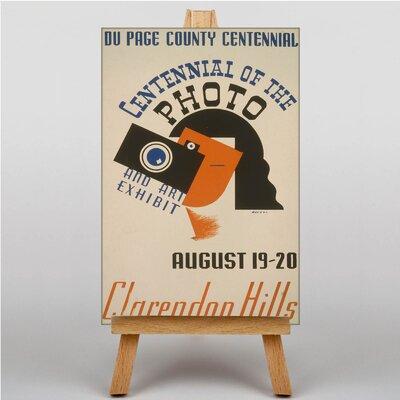 Big Box Art Clarendon Hills Vintage Advertisement on Canvas