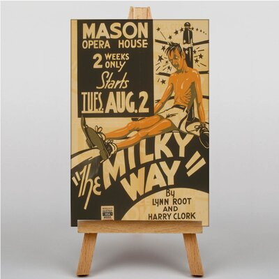 Big Box Art The Milky Way Vintage Advertisement on Canvas