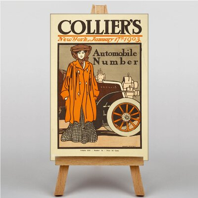 Big Box Art Colliers Vintage Advertisement on Canvas