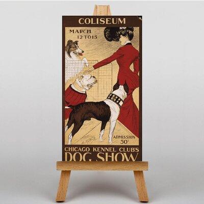Big Box Art Dog Show No.2 Vintage Advertisement on Canvas
