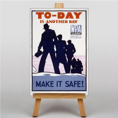 Big Box Art To-Day is Another Day Vintage Advertisement on Canvas