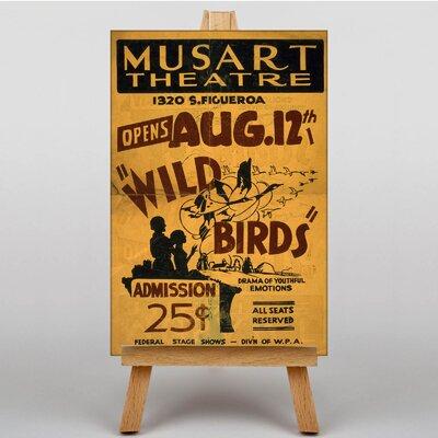 Big Box Art Wild Birds Vintage Advertisement on Canvas