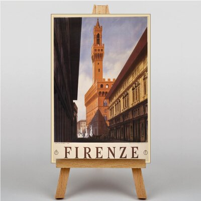Big Box Art Firenze Vintage Advertisement on Canvas