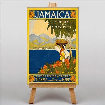 Big Box Art Jamaica Vintage Advertisement on Canvas