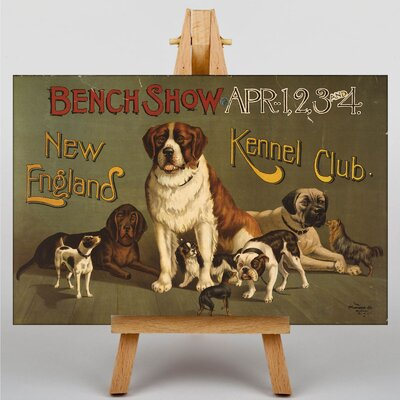 Big Box Art Kennel Club Vintage Advertisement on Canvas