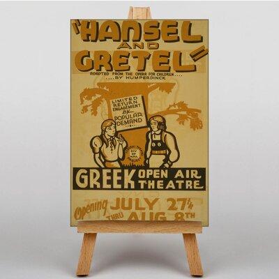 Big Box Art Hansel and Gretel No.2 Vintage Advertisement on Canvas