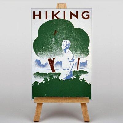 Big Box Art Hiking Graphic Art on Canvas