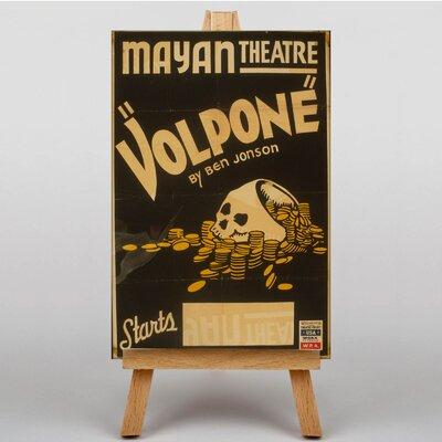 Big Box Art VolponeVintage Advertisement on Canvas